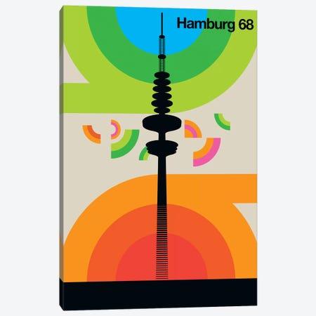 Hamburg 68 Canvas Print #UND18} by Bo Lundberg Art Print