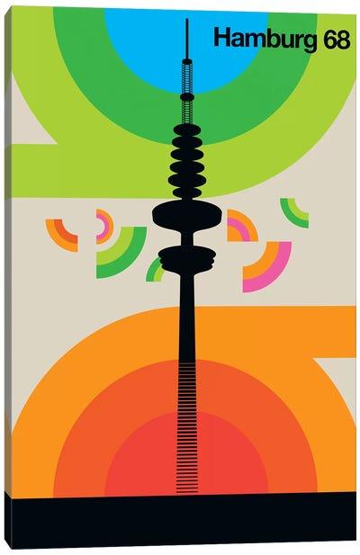 Hamburg 68 Canvas Art Print