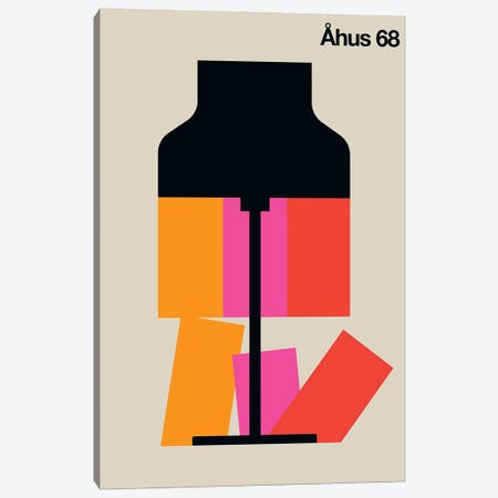 Åhus 68 Canvas Print #UND1} by Bo Lundberg Canvas Wall Art