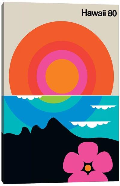 Hawaii 80  Canvas Art Print