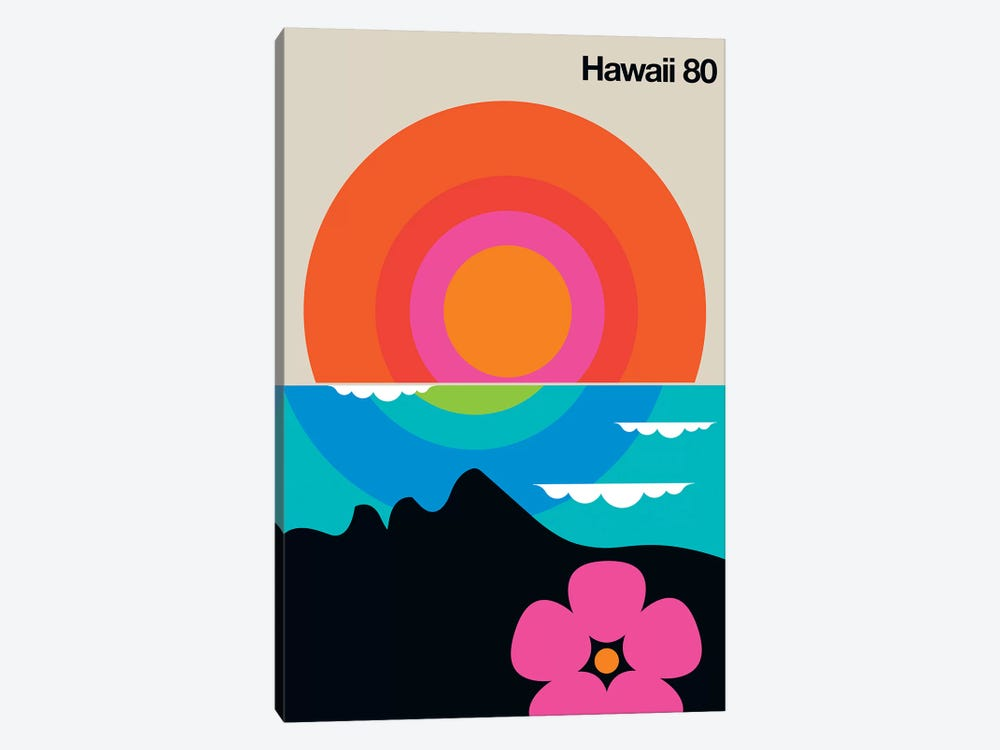 Hawaii 80  by Bo Lundberg 1-piece Art Print