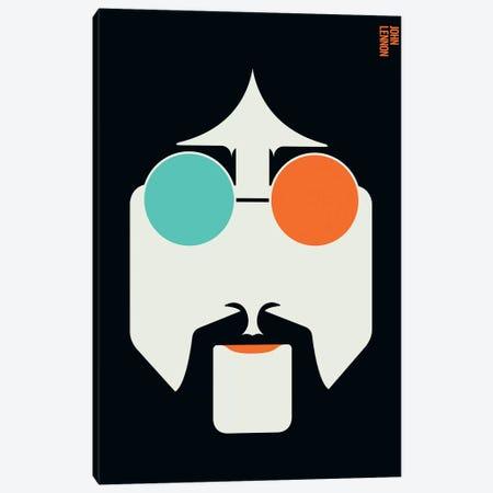 Icons - Lennon Canvas Print #UND24} by Bo Lundberg Canvas Art Print