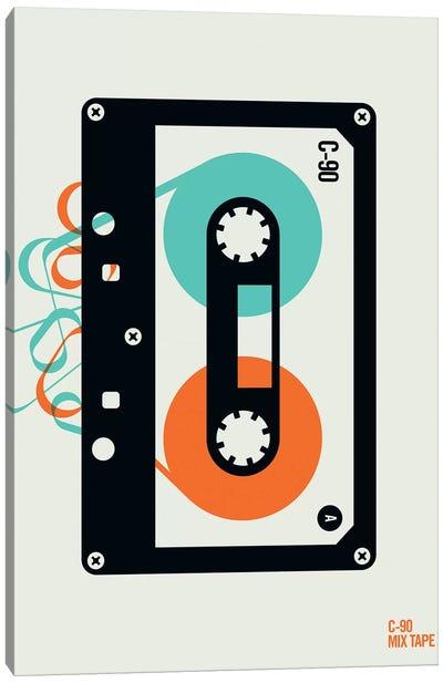 Icons - Mixtape Canvas Art Print