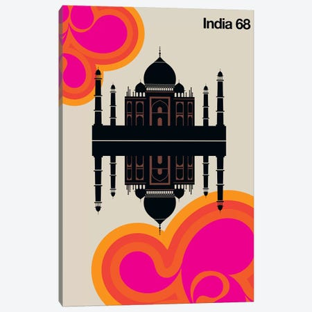 India 68 Canvas Print #UND27} by Bo Lundberg Art Print