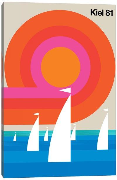 Kiel 81 Canvas Art Print