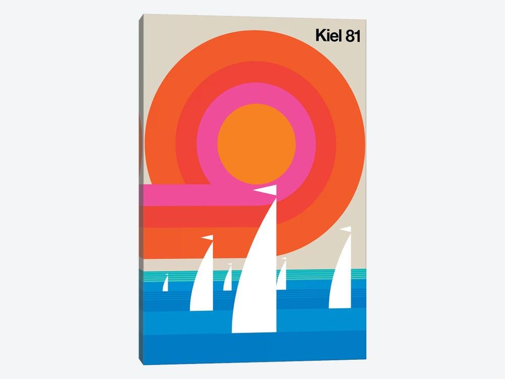 Kiel 81 by Bo Lundberg 1-piece Canvas Print
