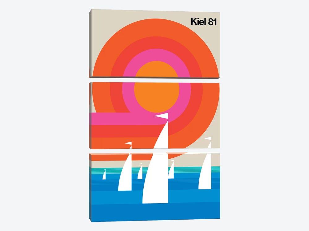 Kiel 81 by Bo Lundberg 3-piece Canvas Art Print