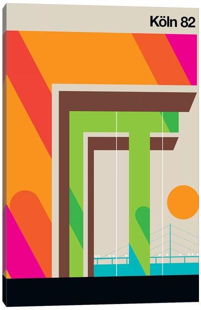 Köln 82 Canvas Art Print