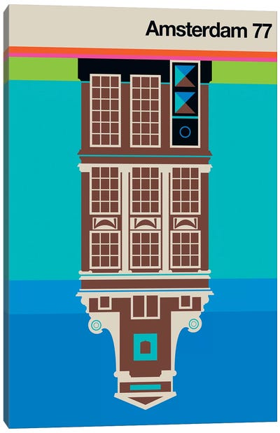 Amsterdam 77 Canvas Art Print