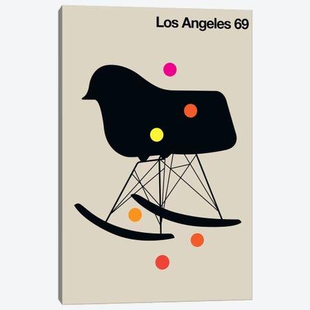 LA 69 Canvas Print #UND30} by Bo Lundberg Canvas Art Print