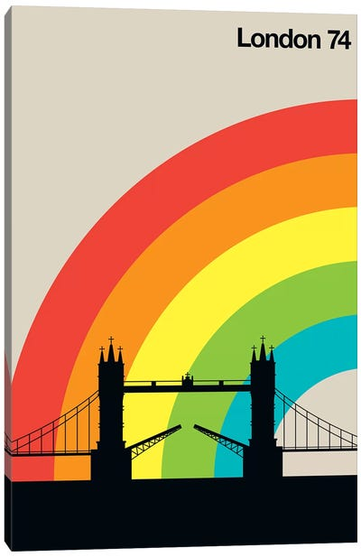 London 74 Canvas Art Print