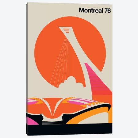 Montreal 76 Canvas Print #UND37} by Bo Lundberg Canvas Wall Art