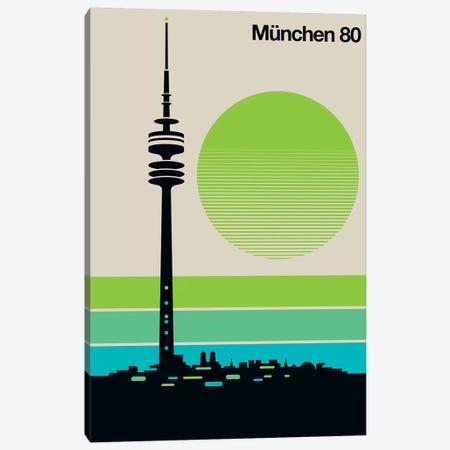 München 80 Canvas Print #UND38} by Bo Lundberg Canvas Print