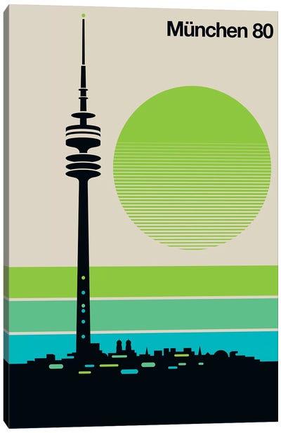 München 80 Canvas Art Print
