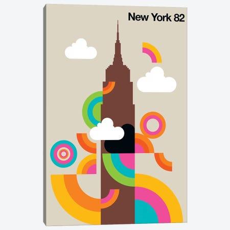 New York 82 Canvas Print #UND39} by Bo Lundberg Canvas Art Print