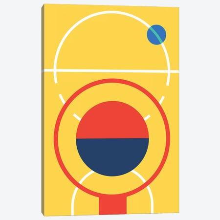 Basketball Canvas Print #UND3} by Bo Lundberg Canvas Wall Art