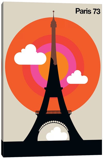 Paris 73 Canvas Art Print