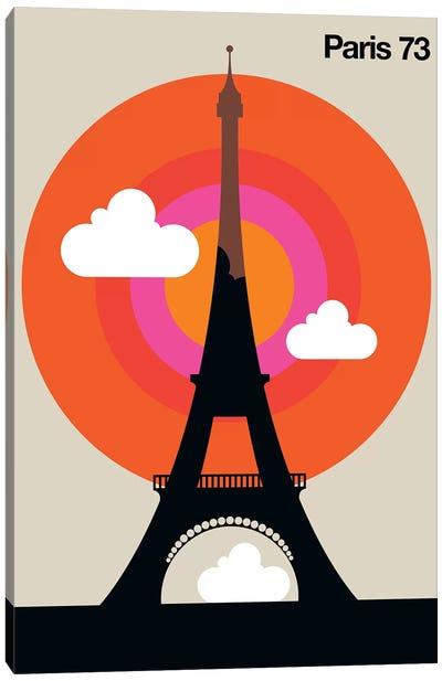 Paris 73 Canvas Art Print