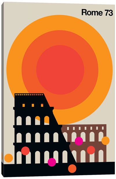 Rome 73 Canvas Art Print