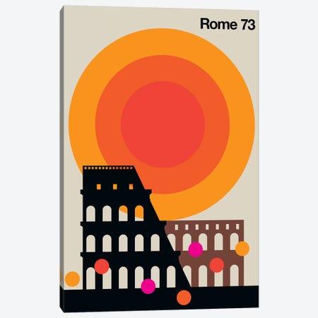 Rome 73 Canvas Print #UND42} by Bo Lundberg Canvas Artwork