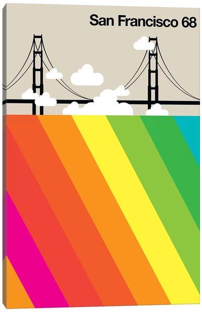 San Francisco 68 Canvas Art Print