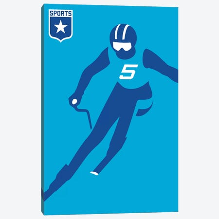 Sport - Alpine Canvas Print #UND44} by Bo Lundberg Canvas Print