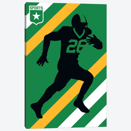 Sport - American Football Canvas Print #UND45} by Bo Lundberg Canvas Print