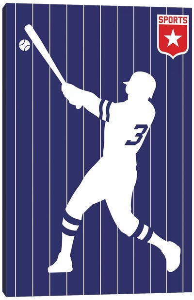 Sport - Baseball Canvas Art Print
