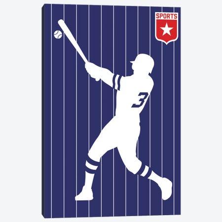Sport - Baseball Canvas Print #UND46} by Bo Lundberg Canvas Print