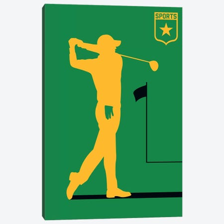 Sport - Golf Canvas Print #UND47} by Bo Lundberg Canvas Art Print