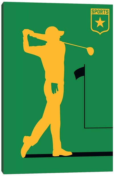 Sport - Golf Canvas Art Print