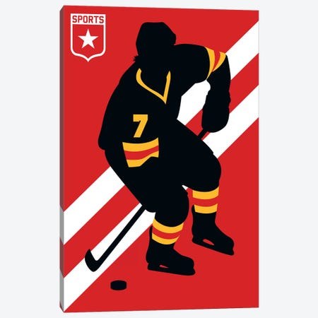 Sport - Ice Hockey Canvas Print #UND48} by Bo Lundberg Canvas Art