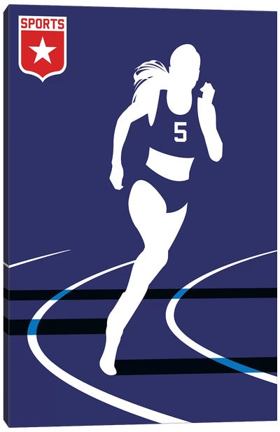 Sport - Runner Canvas Art Print