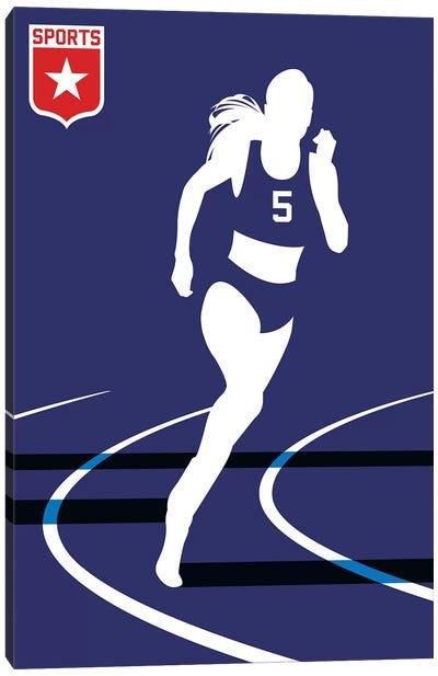 Sport - Runner Canvas Art Print