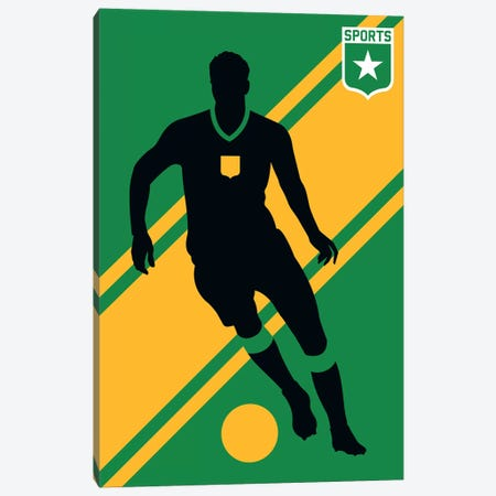 Sport - Soccer Canvas Print #UND50} by Bo Lundberg Canvas Print