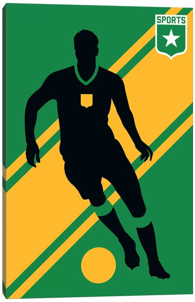 Sport - Soccer Canvas Art Print