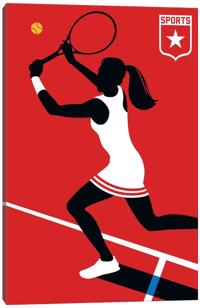 Sport - Tennis Canvas Art Print