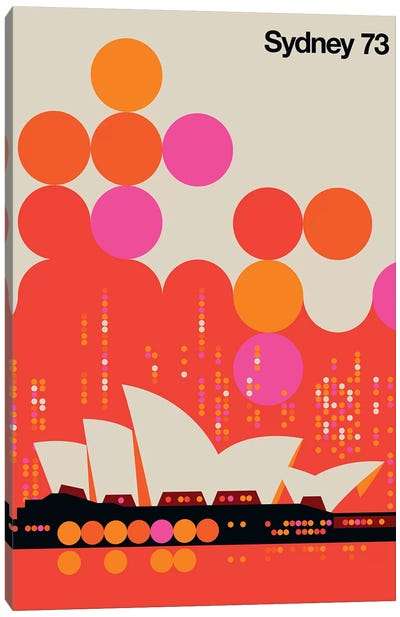 Sydney 73 Canvas Art Print