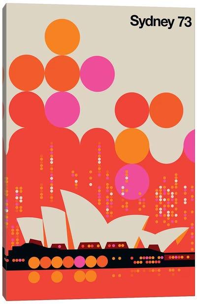 Sydney 73 Canvas Art Print