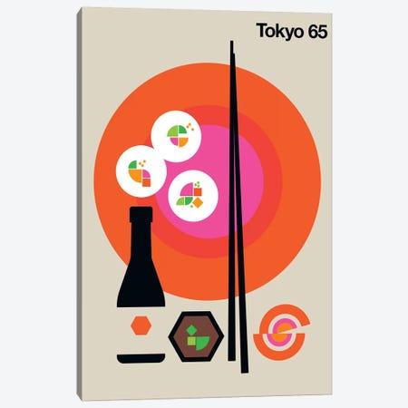 Tokyo 65 Canvas Print #UND56} by Bo Lundberg Canvas Artwork