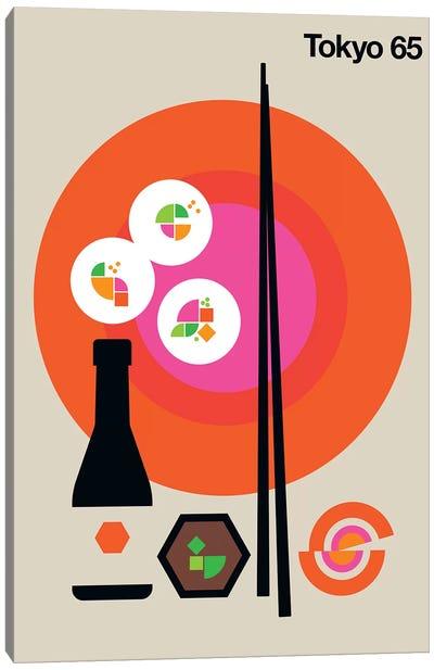 Tokyo 65 Canvas Art Print