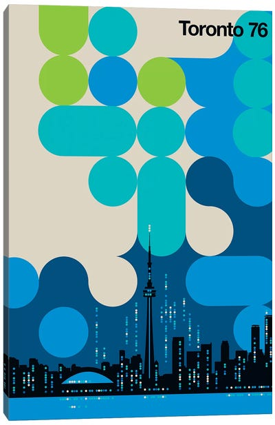 Toronto 76 Canvas Art Print