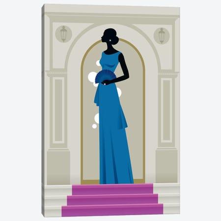 Woman Canvas Print #UND58} by Bo Lundberg Canvas Print