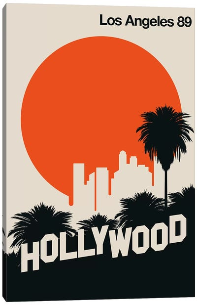 Los Angeles 89 Canvas Art Print