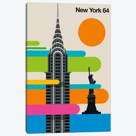 New York 64 Canvas Print #UND65} by Bo Lundberg Canvas Art Print