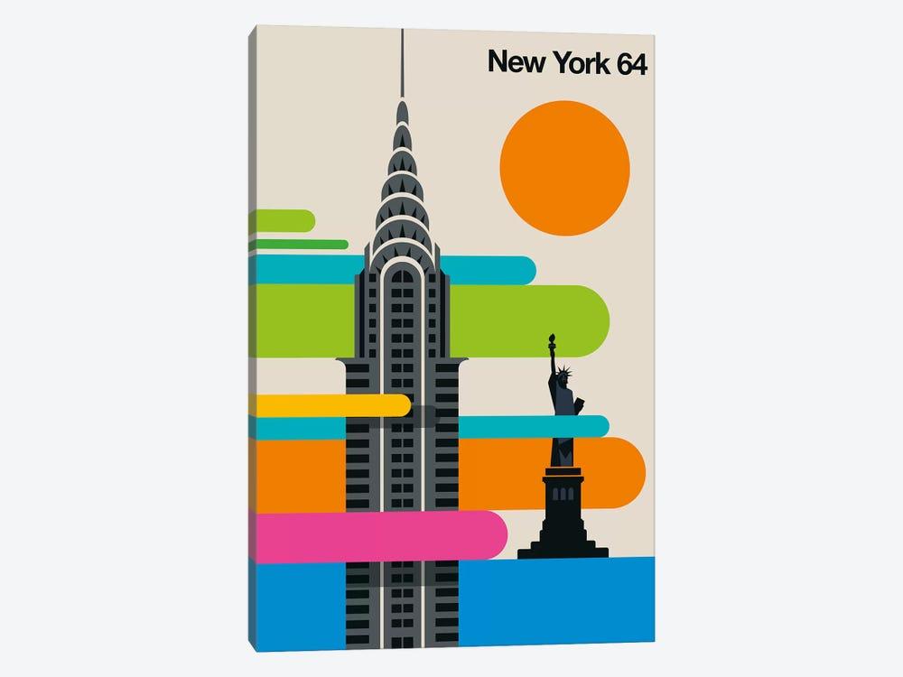New York 64 by Bo Lundberg 1-piece Canvas Wall Art