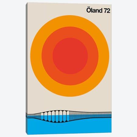 Öland 72 Canvas Print #UND66} by Bo Lundberg Canvas Print