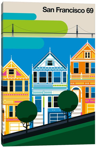 San Francisco 69 Canvas Art Print