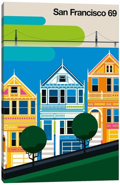 San Francisco 69 Canvas Art Print