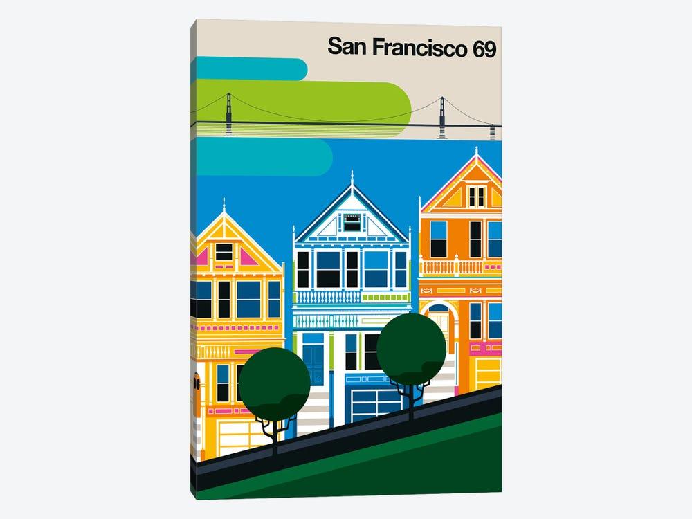 San Francisco 69 by Bo Lundberg 1-piece Canvas Art